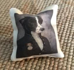 Pat Tyler Artist Made Handcrafted Bed Sofa Chair Pillow Cush