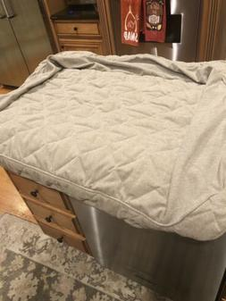 Orvis  Bolster Dog Bed  Large Cover Only New Heathered Khaki