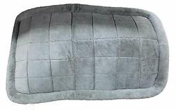 Boots & Barkley XXL Bolster Crate Plush Dog Bed 46 x 28 Inch
