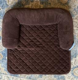 Chair Bolster Pillow Furniture Cover For Pets - Chocolate -