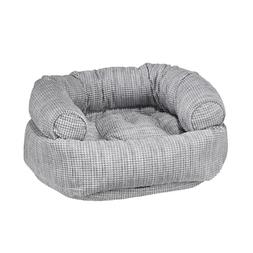 Bowsers Chenille GLACIER Double Donut Bolstered Nesting Dog