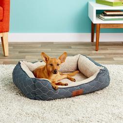 American Kennel Club Circle Stitch Orthopedic Bolster Cat &