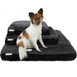 Dog & Cat Pet Bed Bolster Foam Deluxe Bedding Cuddler Fluffy