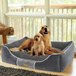 Dog Bed Bolster Jumbo Large Medium Pet Cushion House Waterpr