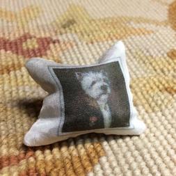 Pat Tyler Dollhouse Miniature Bed Sofa Chair Pillow Cushion