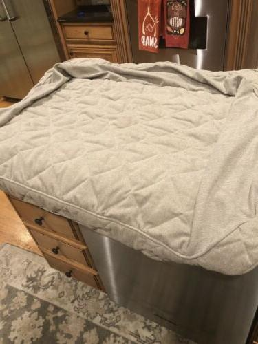 bolster dog bed large cover only new