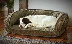 Orvis Memory Foam Fleece Lined Deep Dish Dog Bed SMALL Cozy