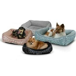 Paws & Pals Self-Warming Machine Washable Bolster Cat & Dog